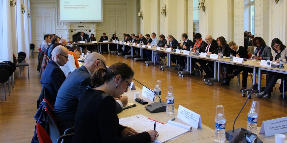 Photo d'une réunion