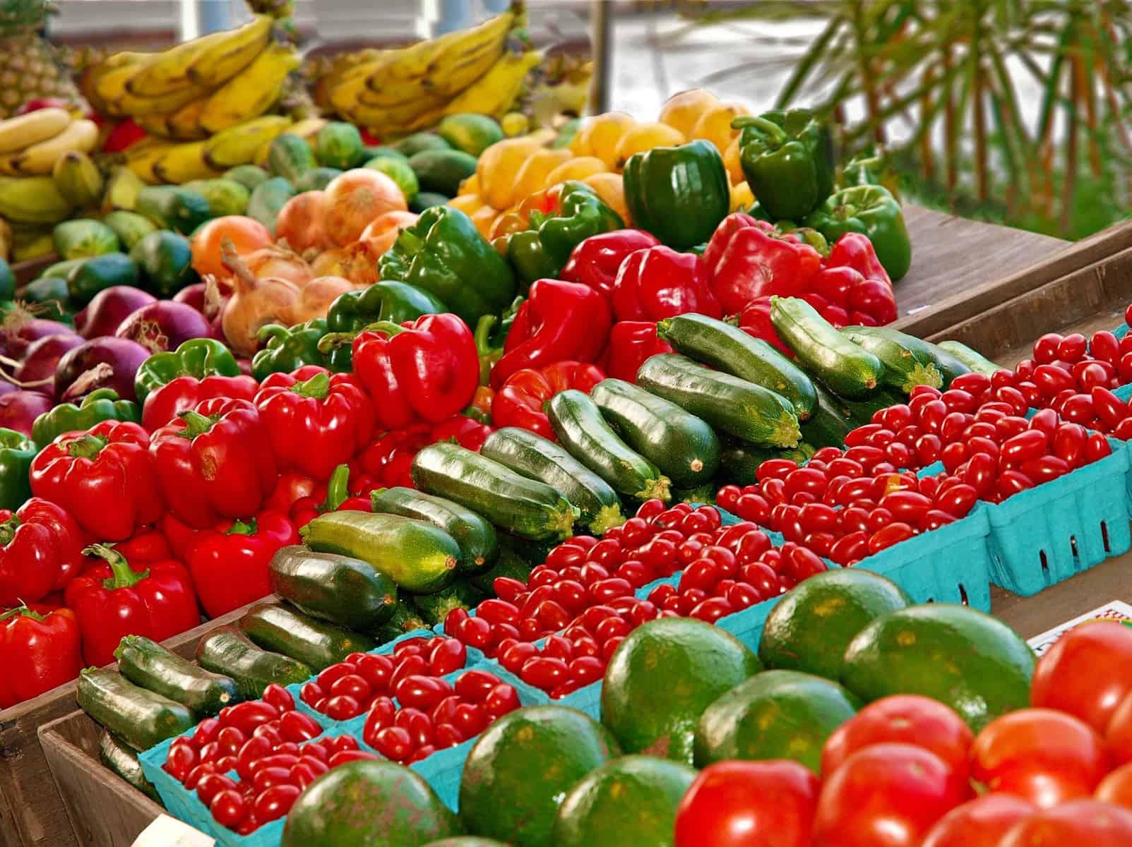 Etat de fruits et légumes