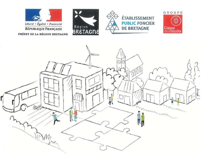 appels à candidatures «dynamisme des bourgs ruraux» et «dynamisme des villes» en Bretagne